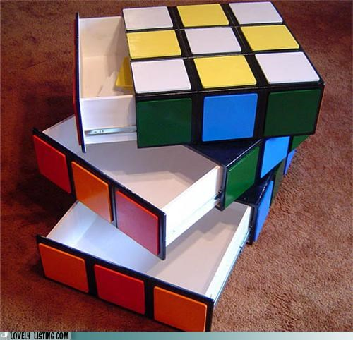 drawers,dresser,furniture,rubix cube