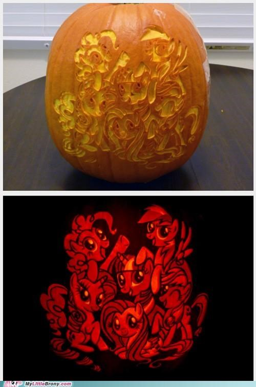 art awesome best of week carving friendship is magic halloween pumpkins - 5335933440