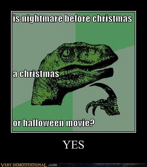 christmas halloween hilarious Movie nightmare before christmas - 5335940608
