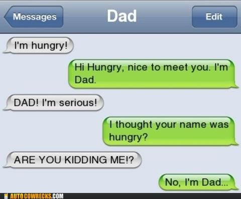 dad Hall of Fame hungary hungry parenting pun - 5335984384