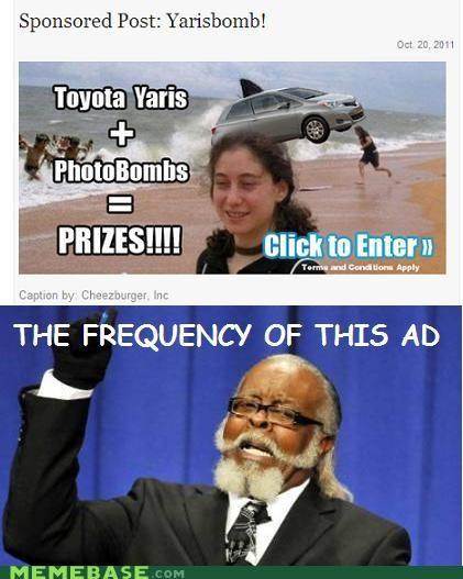 bomb,clicks,jimmy mcmillan,lol,prizes,seriously,toyota,yaris