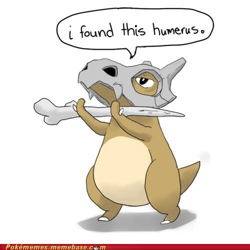 best of week,cubone,humerus,marowak,marrownic,Pokémans,puns