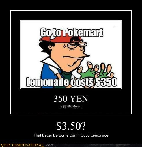expensive hilarious lemonade money Pokémon - 5336105984