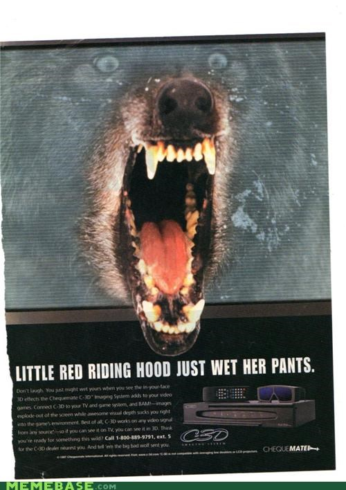 Insanity Wolf IRL Little Red Riding Hood magazine video games - 5336244224