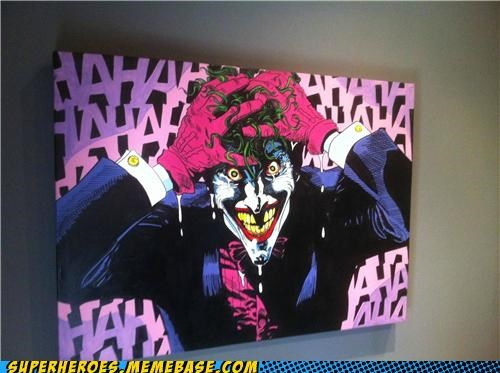 amazing Awesome Art joker laughing - 5336258304