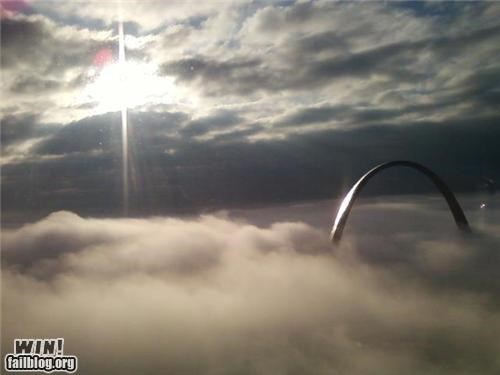 arch fog morning photography st-louis urban - 5336333312
