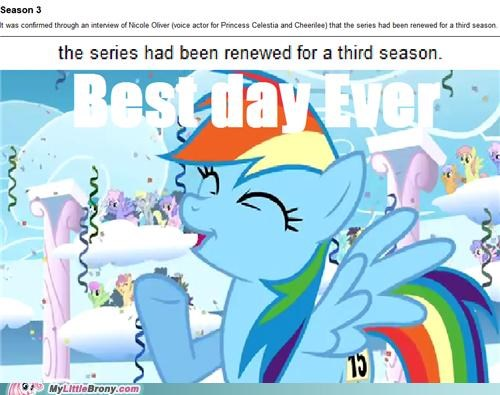 best day ever best of week louder rainbow dash renewed season 3 TV yay - 5336344320