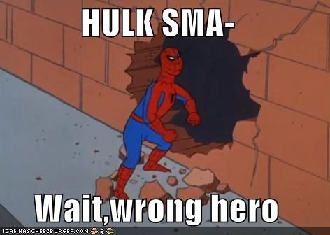 hulk Spider-Man Super-Lols The Thing wrong - 5336350720
