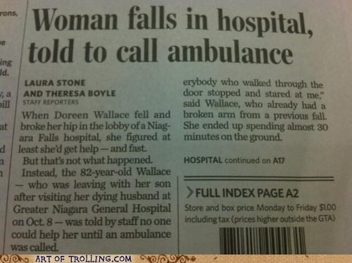 ambulance hospital IRL news - 5336425728