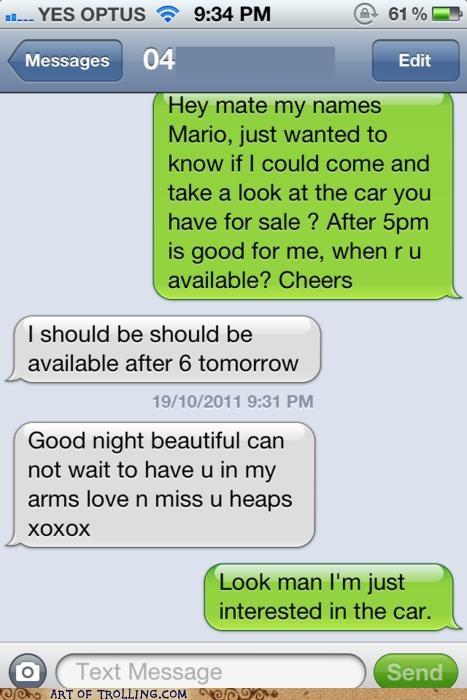 Awkward sms text - 5336453120