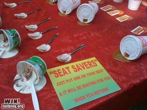 clever design fake mess save seat spill - 5336453888