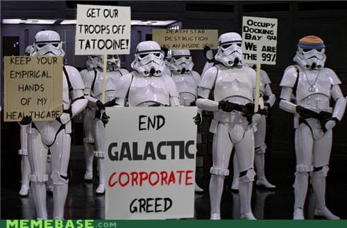 Death Star,docking bay,empire,Occupy Movement,star wars,stormtrooper