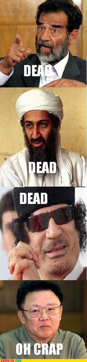 bin Laden dead gaddafi Kim Jong-Il saddam the internets - 5336553216