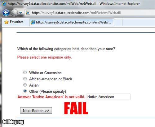 failboat,g rated,internet,native american,racism,technology