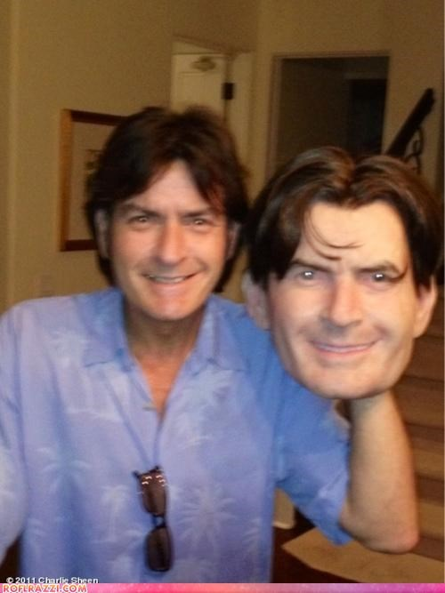 actor,celeb,Charlie Sheen,creepy,funny,halloween