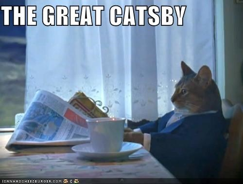 business caption captioned cat dressed up great Hall of Fame prefix pun suit the great gatsby - 5336775168
