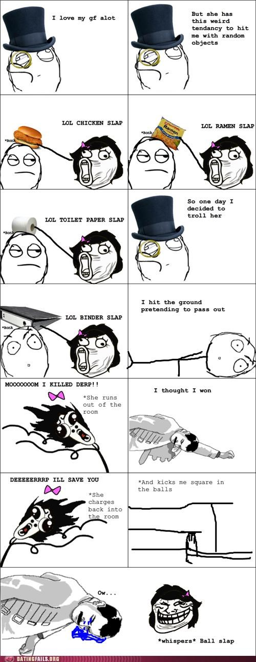 abuse bangkok comic hitting rage comic slapping We Are Dating - 5337189120