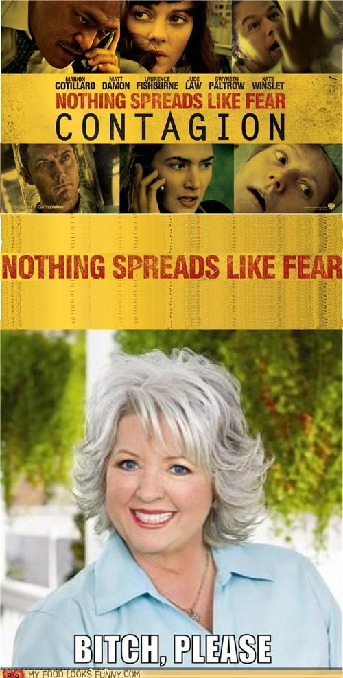 butter contagion Movie paula deen poster spread