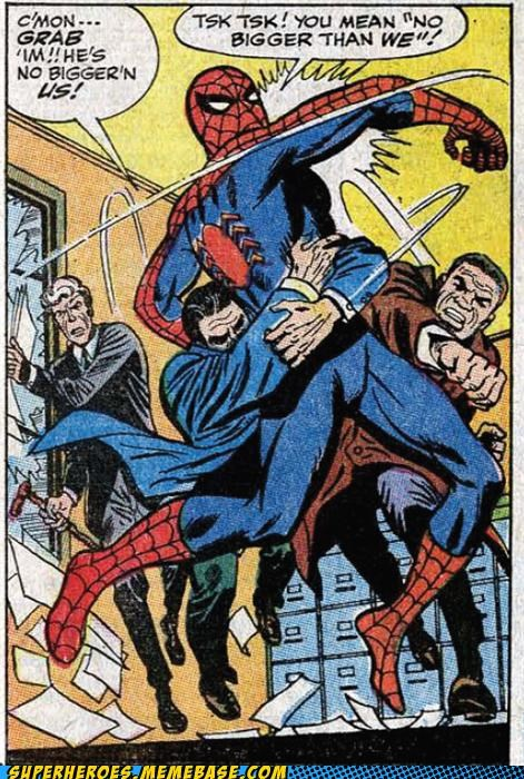 grammar nazi Spider-Man Straight off the Page us we - 5337851904