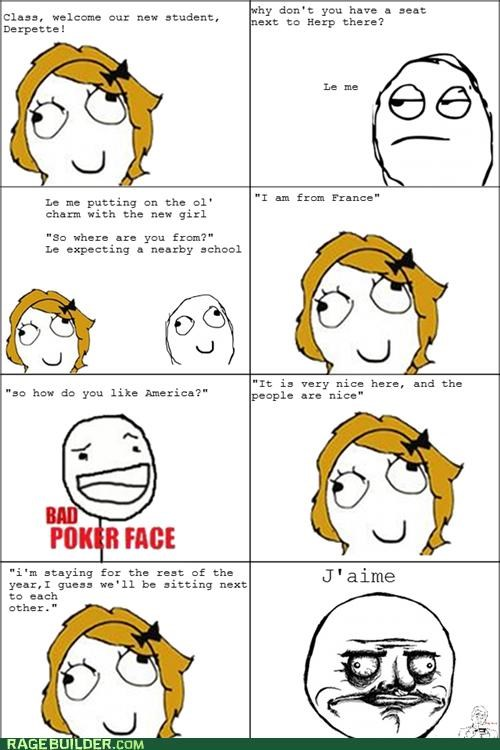 exchange student french me gusta Rage Comics - 5337886208
