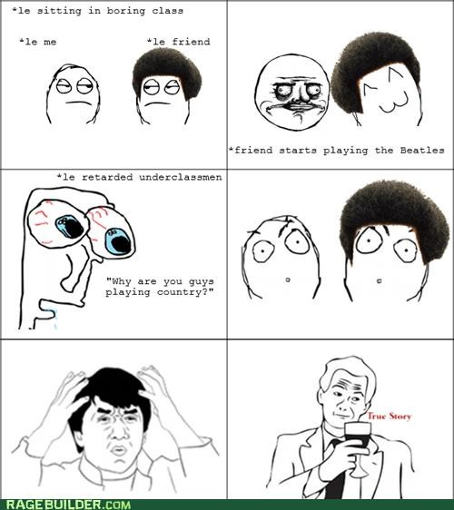 country Music Rage Comics the Beatles - 5337947904