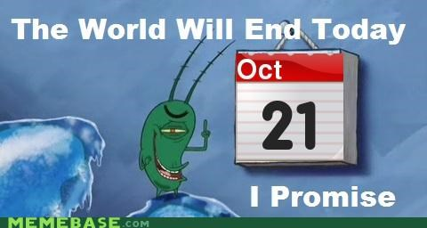 october 21st plankton RAPTURE troll face world ends - 5338072576