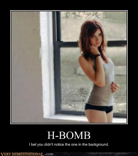 creepy h-bomb Sexy Ladies Terrifying window - 5338231040