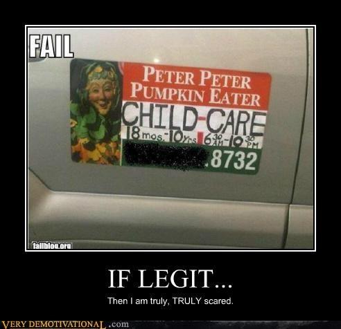 child care eww seems legit Terrifying - 5338710016