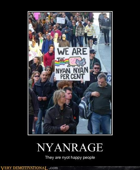NYANRAGE They are nyot happy people