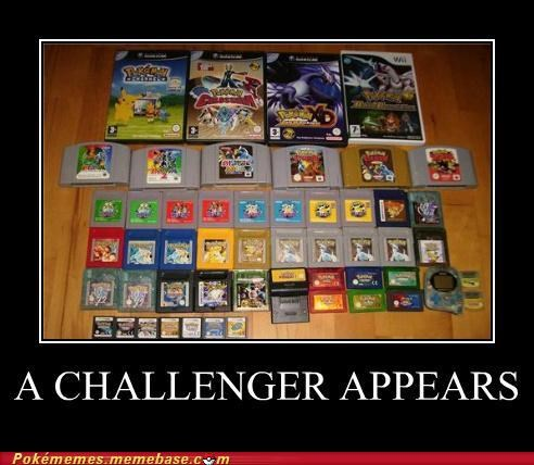 a challenger appears,awesome,pokemon games,toys-games,video games