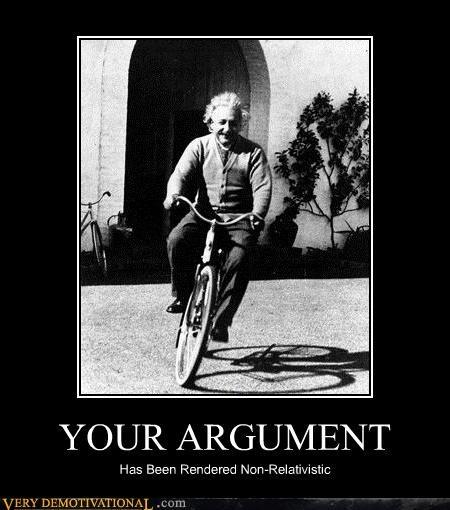 argument einstein hilarious relativity - 5339595520