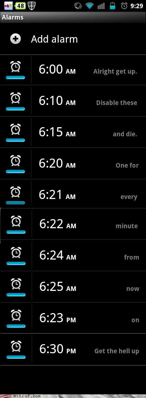 alarm morning phone snooze waking up - 5339736832