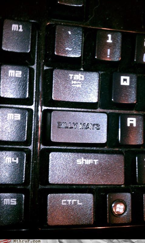 Billy Mays caps lock cruise control custom DIY key keyboard nerdy