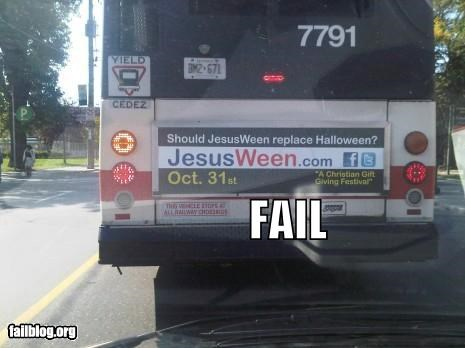Ad failboat g rated Hall of Fame halloween holiday religion - 5340012544
