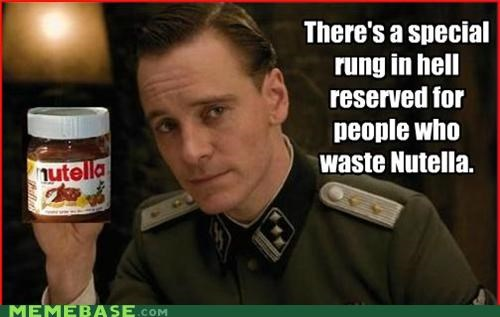 hell,Inglorious Basterds,Memes,nutella,photoshop,rung