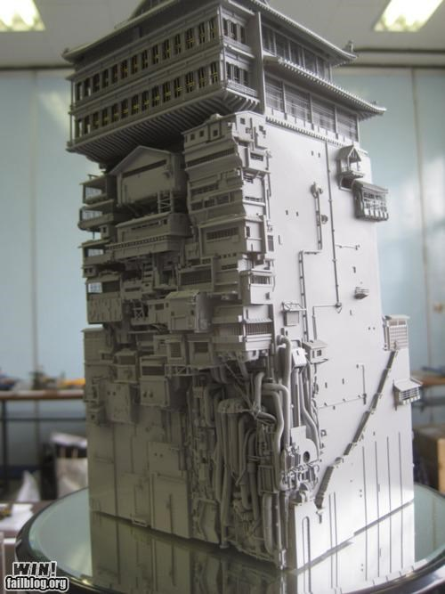 anime art cartoons miyazaki model sculpture spirited away