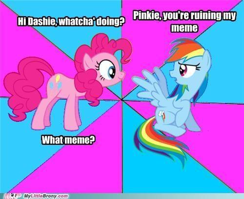 cutie mark meme pinkie pie rainbow dash snakeman1992 - 5340679424