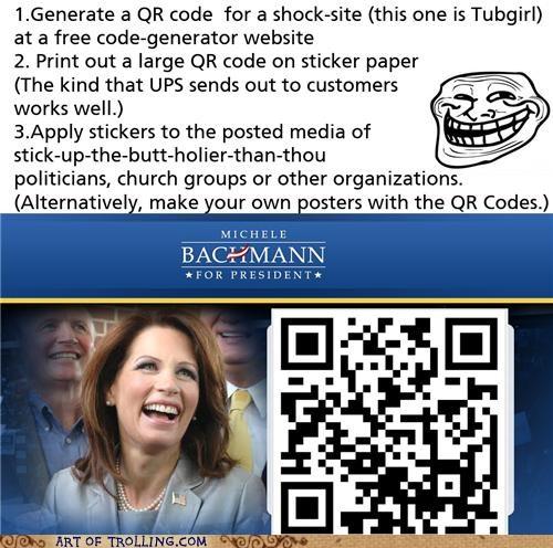 bachmann president QR code tubgirl - 5340781568