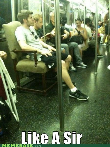 chair sir poor seat Subway throne - 5340911360
