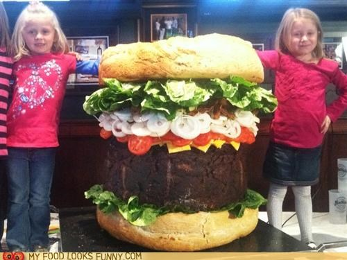 burger children giant huge - 5340934656