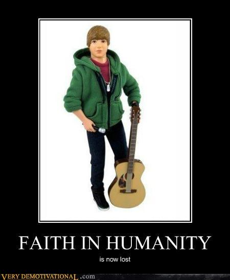 eww faith in humanity justin bieber Terrifying toy - 5341007616