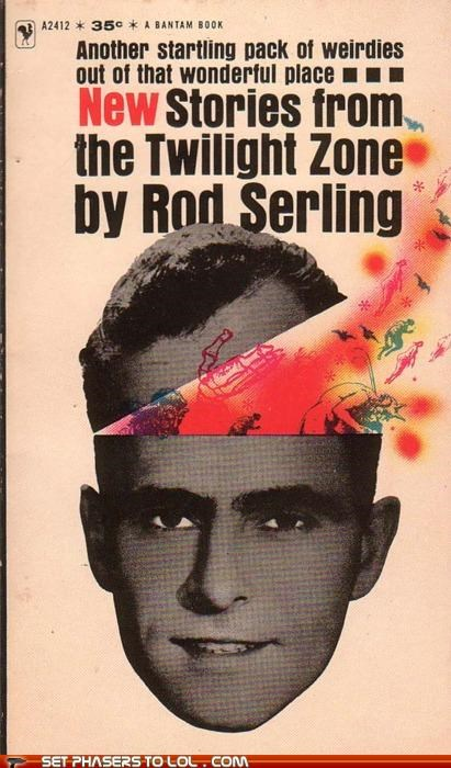 book,cover art,pink,rod serling,sci fi,twilight zone,wtf