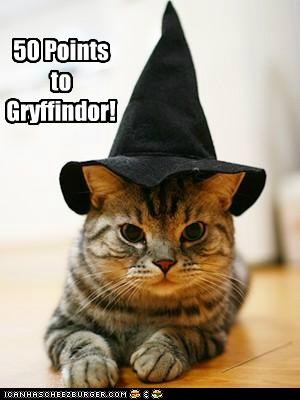 50 Points to Gryffindor!