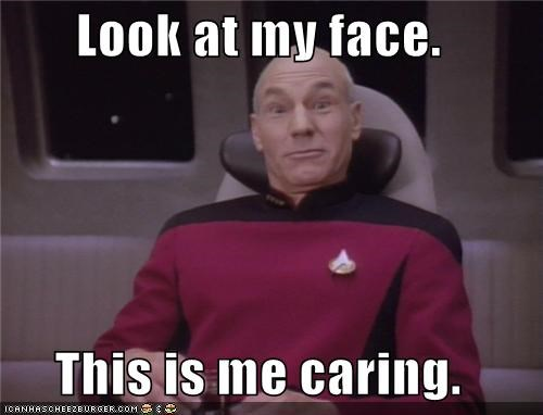 Captain Picard caring face look patrick stewart - 5341562880
