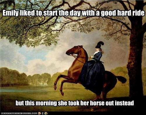 art dominatrix emily hard ride historic lols horse innuendo painting sex sexy sexy time - 5342024960