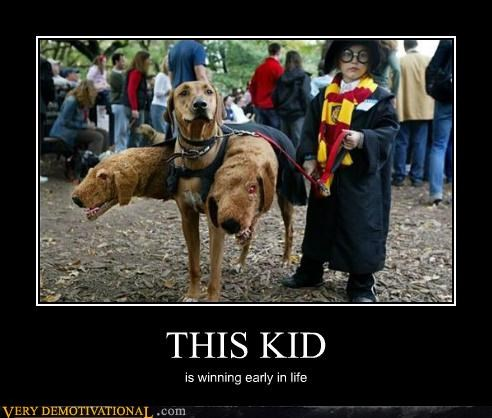 Harry Potter kid life Pure Awesome winning - 5342634752