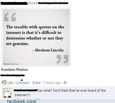 abraham lincoln,history,quotes,the internet