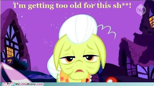 bed five hours ago,granny smith,ponies,sour,too old