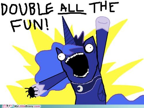 all the things best of week double all the fun fun luna meme nightmare night spider - 5343025408