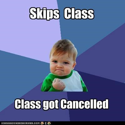 canceled,class,school,skip